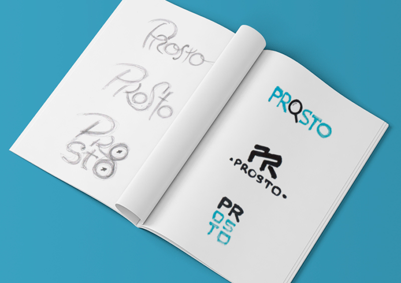 Логотип «PROSTO»