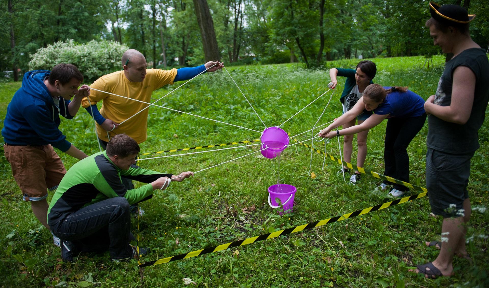 Конкурсы на день рождение с веревкой